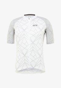 Gore Wear - TRIKOT - T-Shirt print - white/light grey - 5
