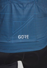 Gore Wear - LINE BRAND TRIKOT - T-shirts print - deep water blue/orbit blue - 5