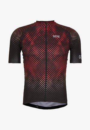 ENERGIA TRIKOT - T-Shirt print - black/red