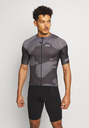 COMBAT TRIKOT - T-shirts print - graphite grey/black