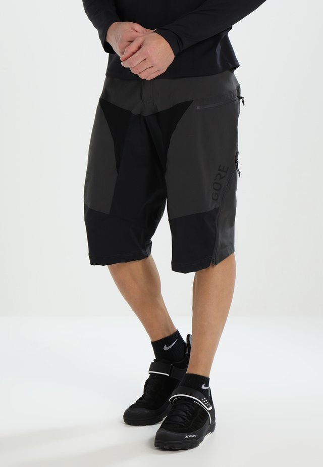 ALL MOUNTAIN SHORTS - Pantaloncini sportivi - terra grey