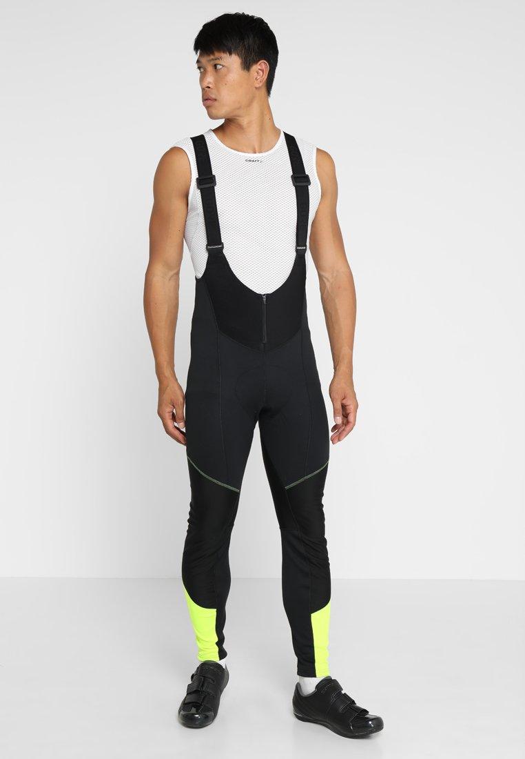 Gore Wear - Punčochy - black/neon yellow