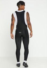 Gore Wear - THERMO TRÄGERHOSE - Tights - black - 2