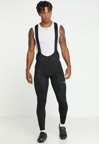 Gore Wear - THERMO TRÄGERHOSE - Tights - black - 0
