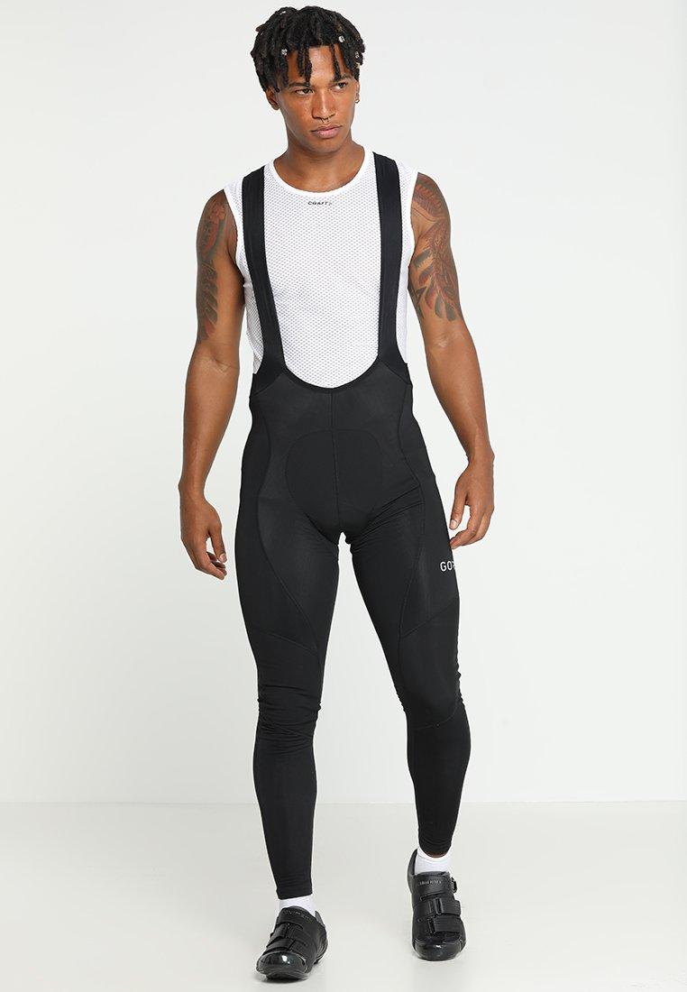 Gore Wear - THERMO TRÄGERHOSE - Tights - black