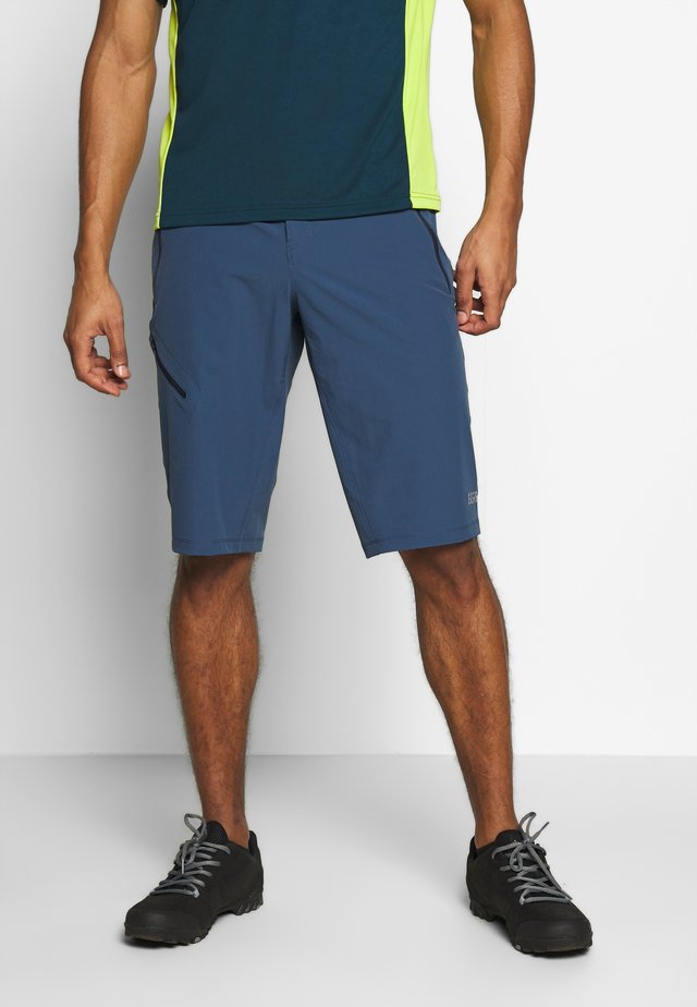 SHORTS - Sports shorts - deep water blue