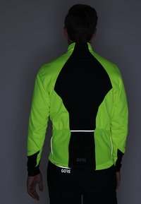 Gore Wear - THERMO  - Soft shell jacket - neon yellow/black - 6