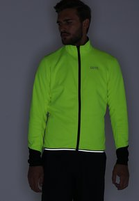 Gore Wear - THERMO  - Soft shell jacket - neon yellow/black - 5