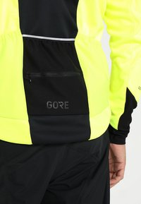 Gore Wear - THERMO  - Soft shell jacket - neon yellow/black - 4