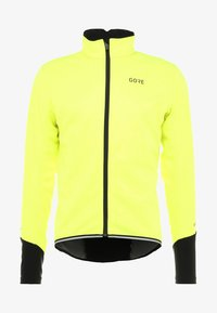 Gore Wear - THERMO  - Soft shell jacket - neon yellow/black - 7