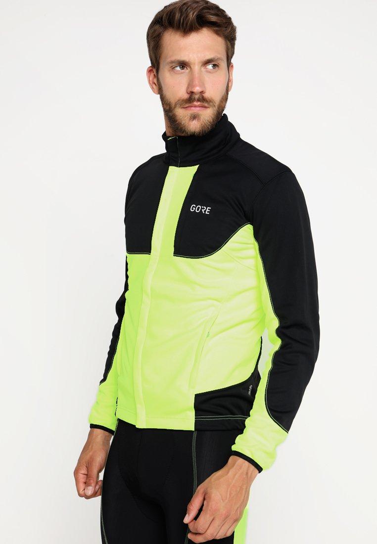 Gore Wear - THERMO TRAIL - Fleecejacka - neon yellow/black