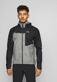 Gore Wear - GORE® C5 GORE TEX TRAIL - Hardshellová bunda - black - 0