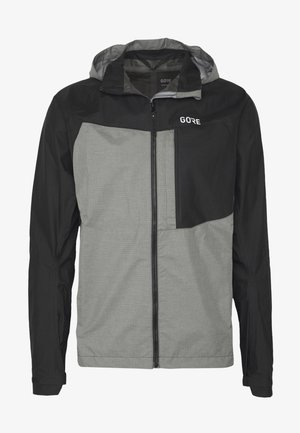 GORE® C5 GORE TEX TRAIL - Hardshellová bunda - black