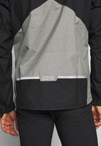 Gore Wear - GORE® C5 GORE TEX TRAIL - Hardshellová bunda - black - 4