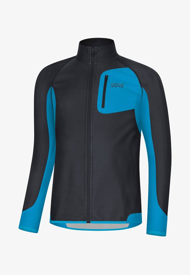 Sports jacket - black/blue