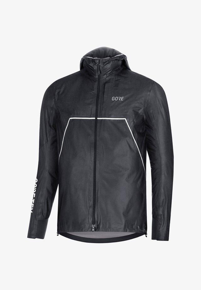 Training jacket - grau/schwarz (719)