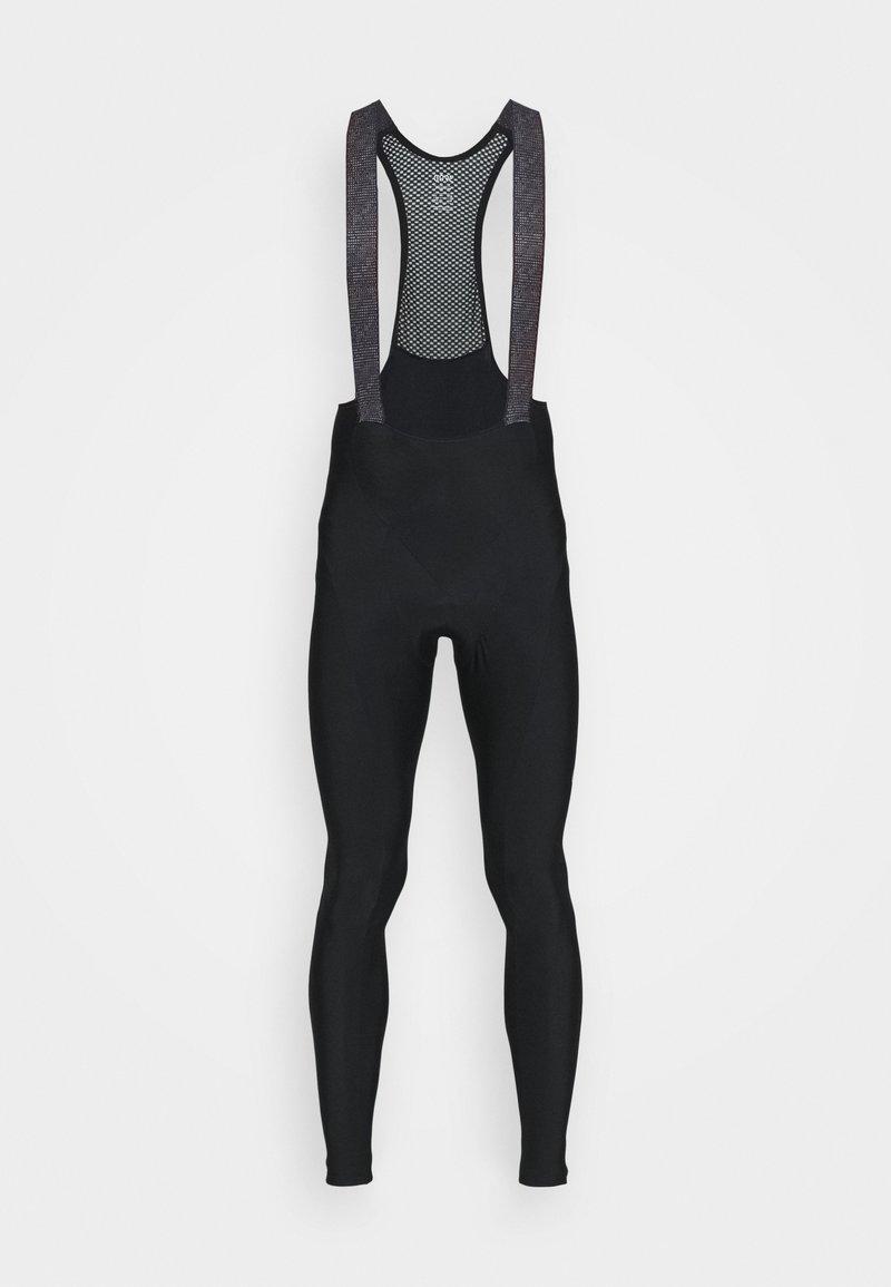 Gore Wear - GORE® C3 THERMO TRÄNGERHOSE+ - Tights - black/neon yellow