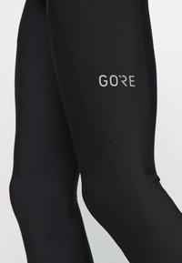 Gore Wear - GORE® C3 THERMO TRÄNGERHOSE+ - Tights - black/neon yellow - 2