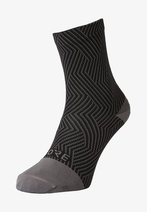 GORE® C3 SOCKEN MITTELLANG - Sportsocken - graphite grey/black