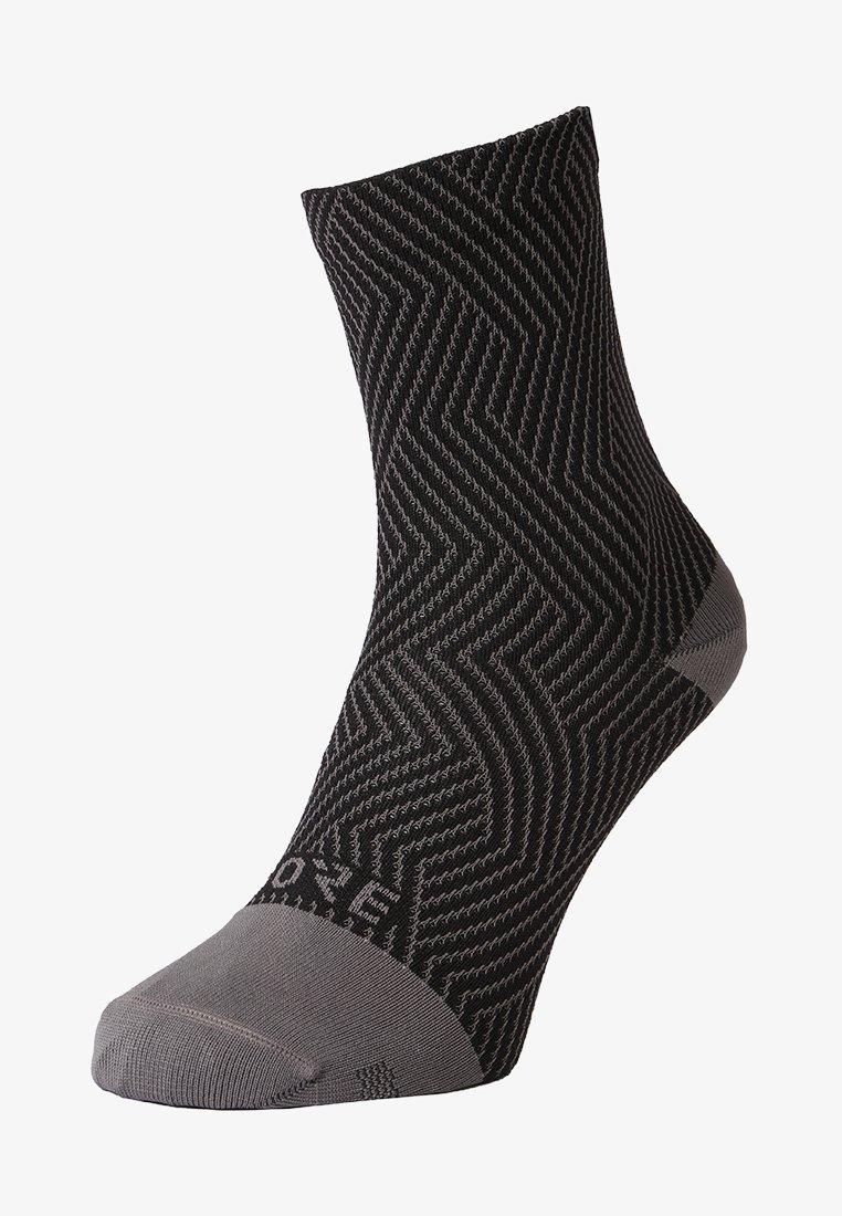 Gore Wear - C3 OPTILINE MITTELLANG - Sportsocken - graphite grey/black