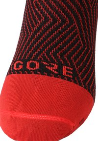 Gore Wear - GORE® C3 SOCKEN MITTELLANG - Sportsocken - red/black - 1