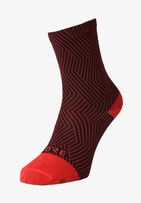 Gore Wear - GORE® C3 SOCKEN MITTELLANG - Sportsocken - red/black - 0
