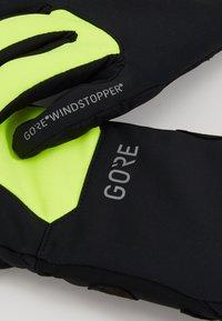 Gore Wear - THERMO - Handschoenen - black/neon yellow - 5