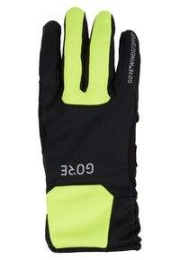 Gore Wear - THERMO - Handschoenen - black/neon yellow - 3
