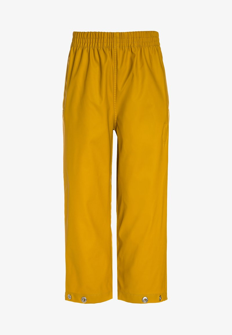 Gosoaky - HIDDEN DRAGON - Trousers - lemon curry