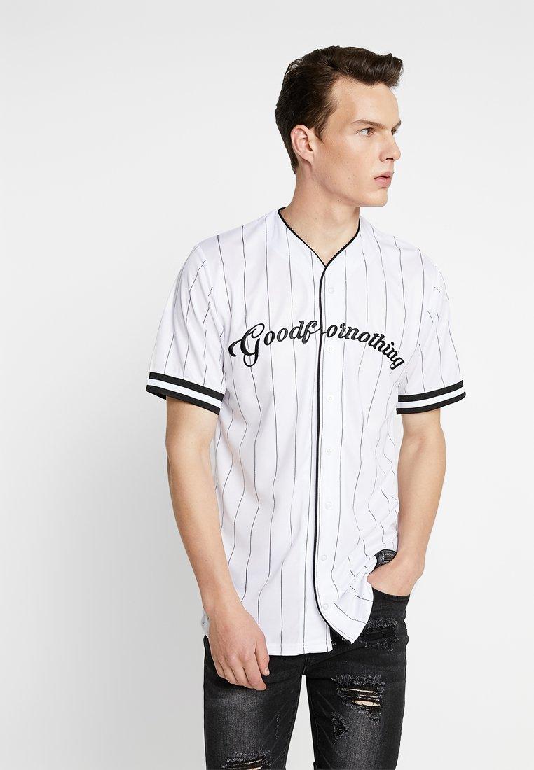 Good For Nothing - CLASSIC PINSTRIPE - Hemd - white/black