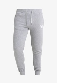 Good For Nothing - LOGO SKINNY - Spodnie treningowe - grey - 3