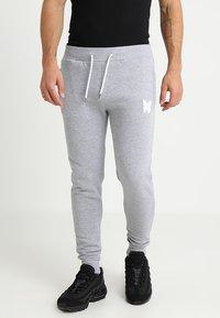 Good For Nothing - LOGO SKINNY - Spodnie treningowe - grey - 0