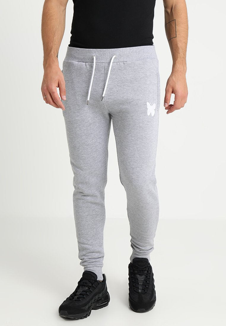 Good For Nothing - LOGO SKINNY - Spodnie treningowe - grey