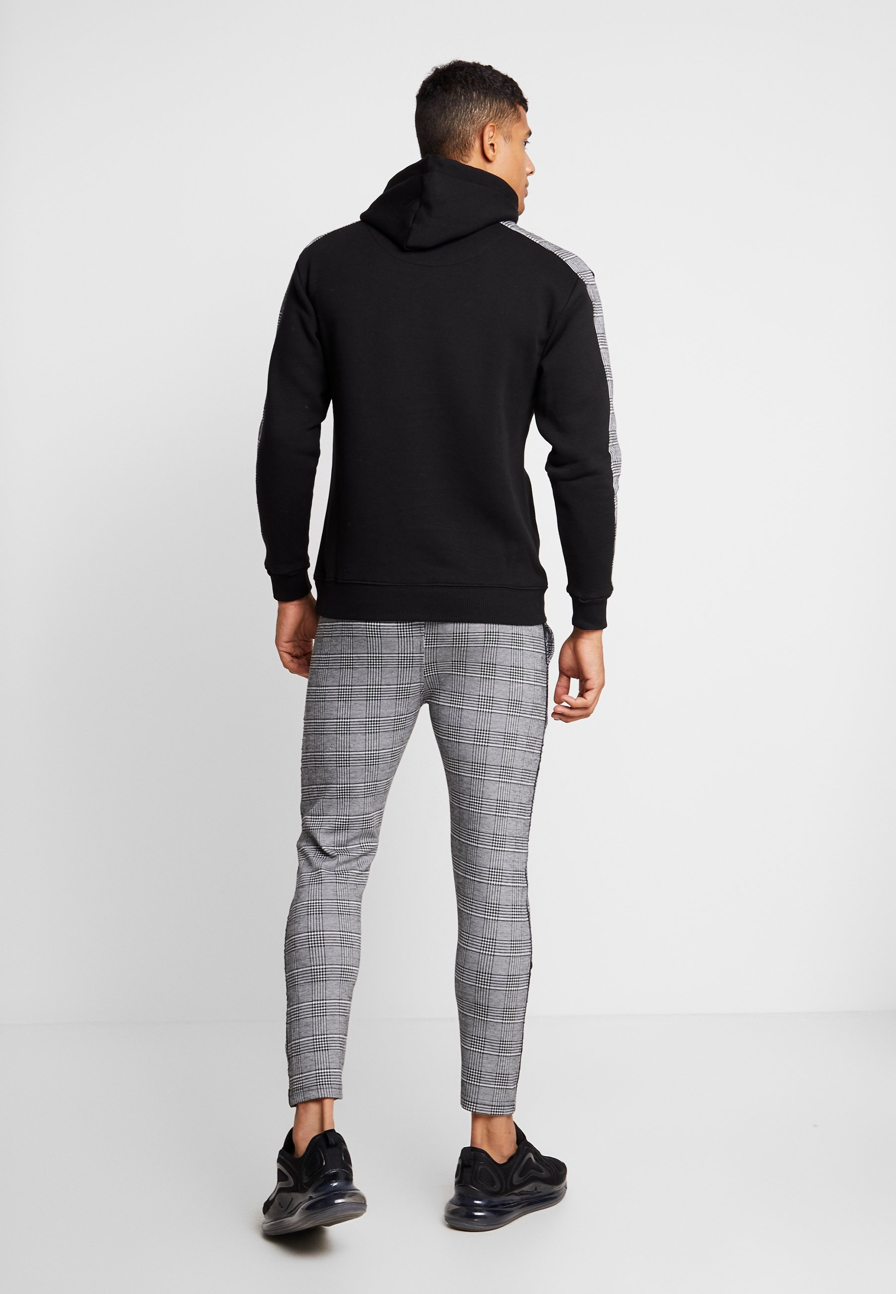 Grey Nothing Tailored Of Good Wales For BrandedPantalon Pants Classique Fitted With Prince Check wPk8On0