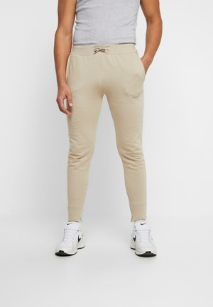 FITTED ESSENTIAL JOGGER - Trainingsbroek - stone