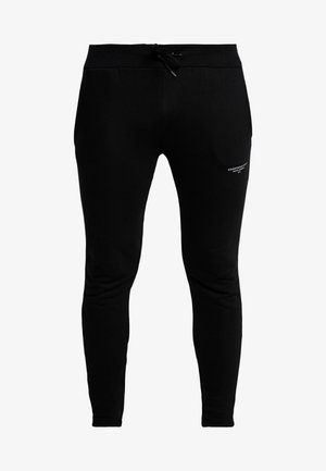 FITTED ESSENTIAL JOGGER - Pantalones deportivos - black