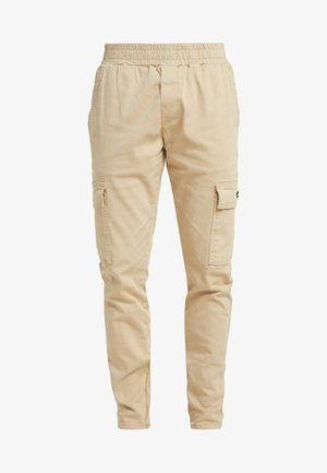 FITTED PANT - Cargobyxor - stone