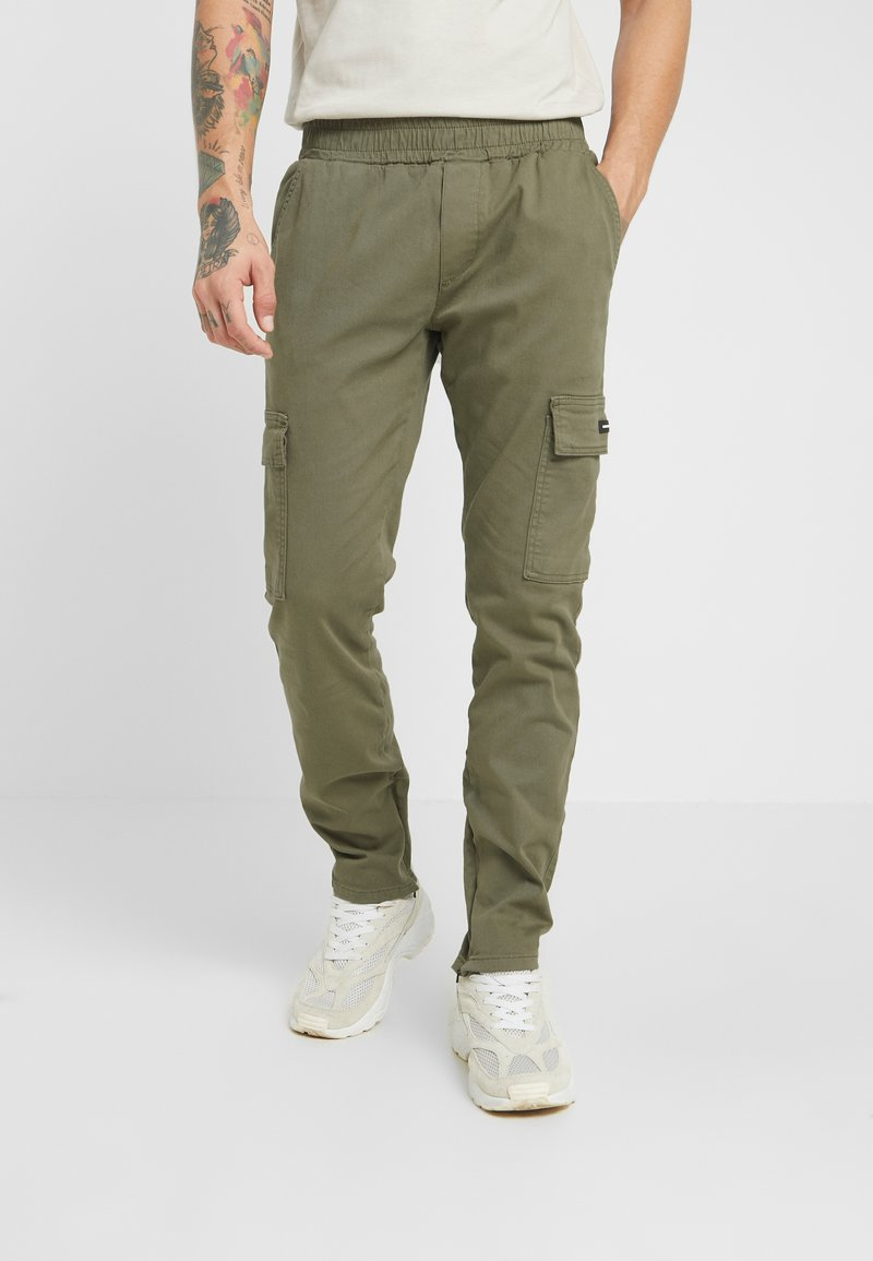 Good For Nothing - PANT - Cargo trousers - dark green
