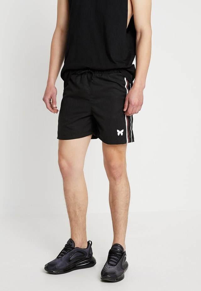 SPEED - Shorts - black/red/white