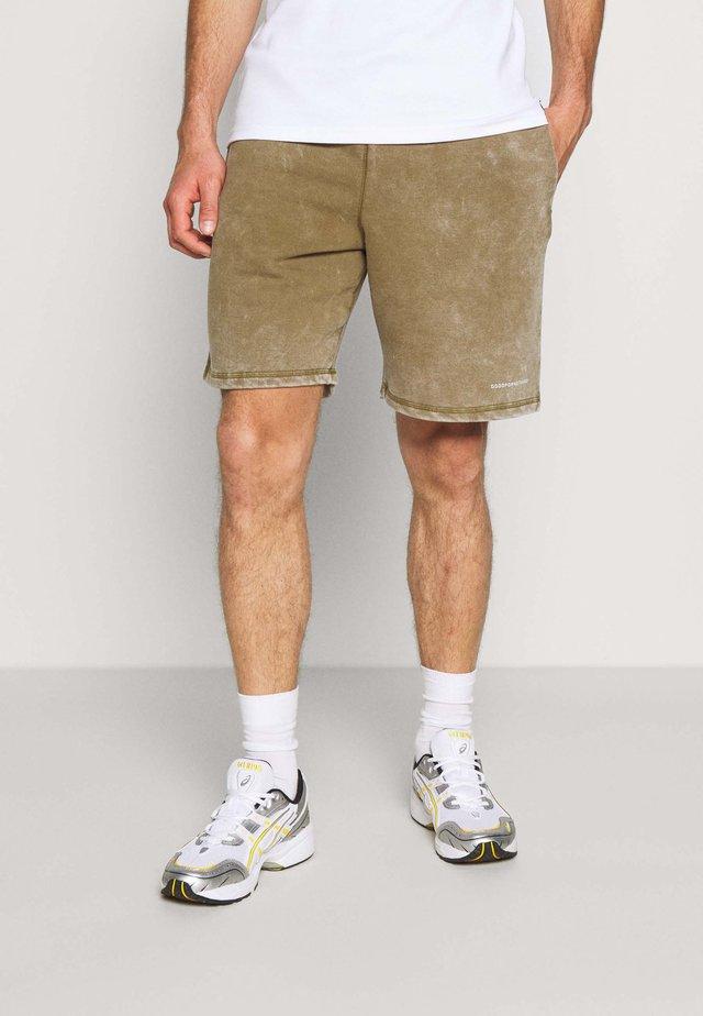 Teplákové kalhoty - sand