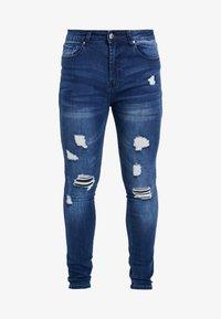 Good For Nothing - SKINNY MID WASH - Jeans Skinny - blue denim - 4