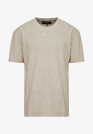 SIGNATURE OVERSIZED STONE WASH  - T-shirts basic - stone wash