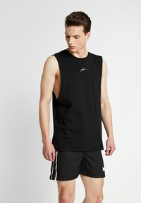 Good For Nothing - SIGNATURE CUT AWAY VEST - Top - black - 0