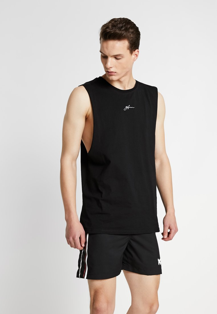 Good For Nothing - SIGNATURE CUT AWAY VEST - Top - black