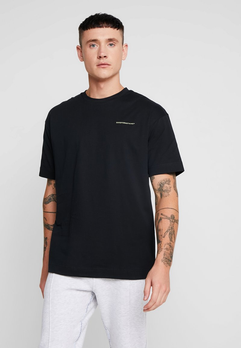 Good For Nothing - ESSENTIAL OVERSIZED - Basic T-shirt - black