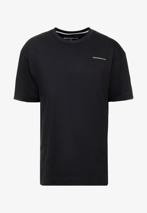 ESSENTIAL OVERSIZED - T-shirt - bas - black