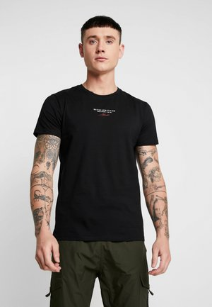 AUTHENTIC - T-shirt con stampa - black