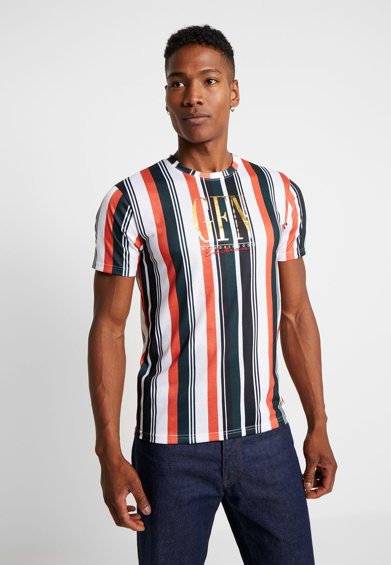 Good For Nothing - FITTED CALIFORNIA STRIPE  - Print T-shirt - multi