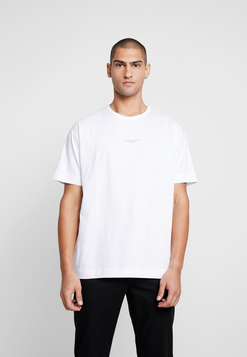 Good For Nothing - ESSENTIAL - T-shirts med print - white