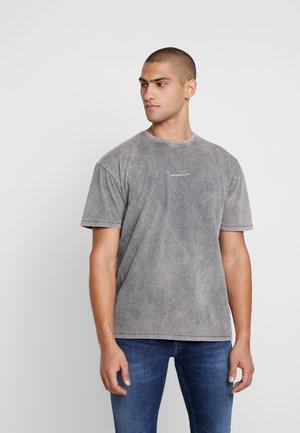 OVERSIZED WASH  - Print T-shirt - grey